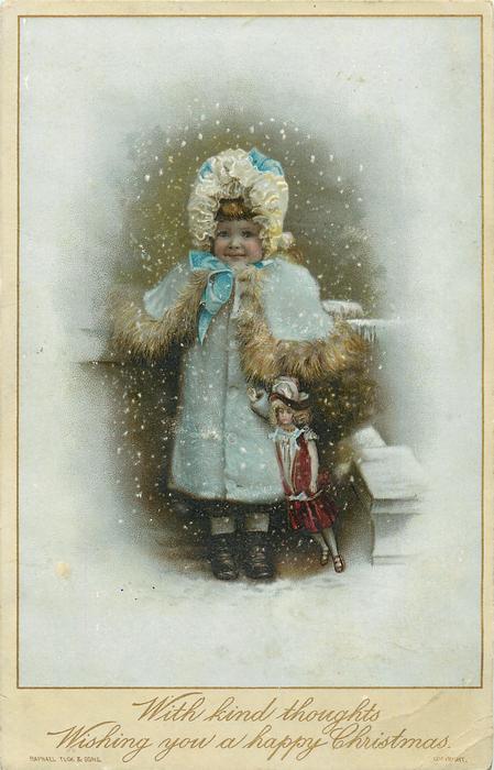 Christmas Greeting - Tuck DB