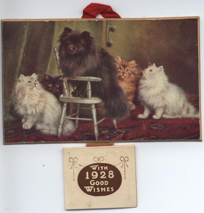 A HAPPY FAMILY (title on reverse)