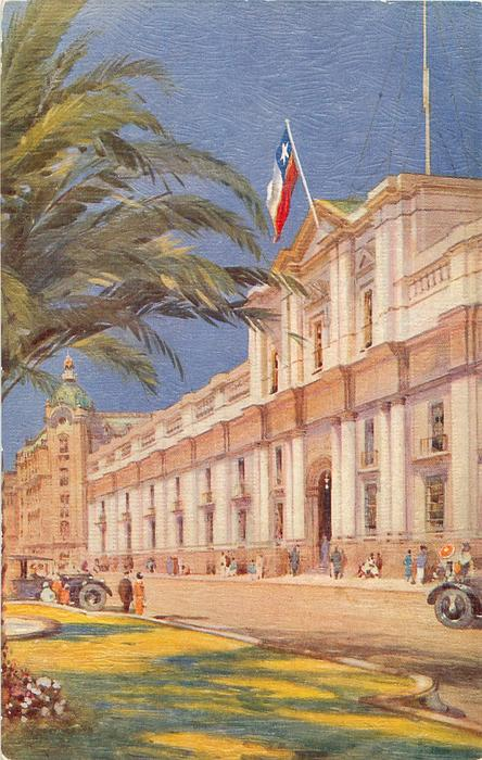 LA MONEDA, PRESIDENTIAL PALACE, SANTIAGO