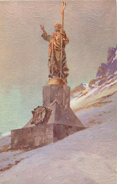 STATUE OF CHRIST THE REDEEMER ON THE FRONTIER OF ARGENTINE AND CHILE