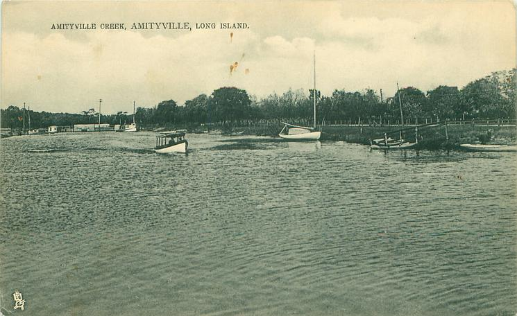 AMITYVILLE CREEK  distant view