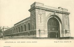 NEW ARMORY - NAVAL ACADEMY