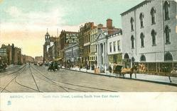 SOUTH MAIN STREET, LOOKING SOUTH FROM EAST MARKET