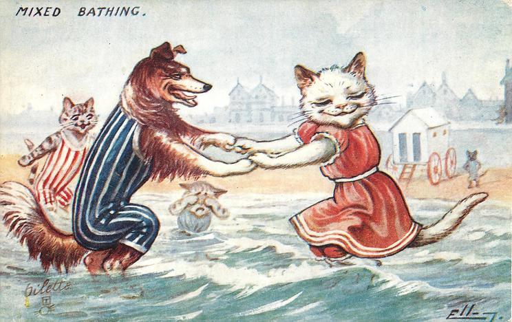 Dog Holding Cat Meme