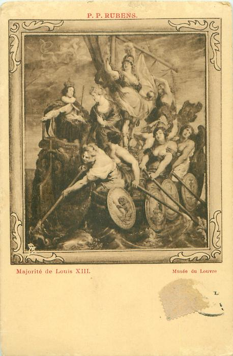 MAJORITE DE LOUIS XIII