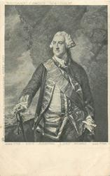 VICE-ADMIRAL, LORD HAWKE, BORN 1715, DIED 1781